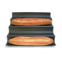 Moule 4 baguettes anti-adhésif Gobel