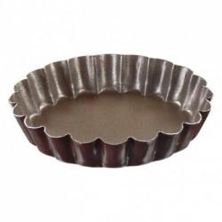 Tartelette ronde cannelée anti-adhérent Gobel