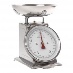 Balance de cuisine mécanique rétro