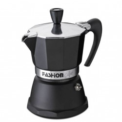 Cafetière italienne induction Fashion Black - G.A.T