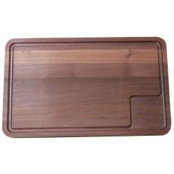 Planche à découper en robinier -  45x28x2cm - Scanwood