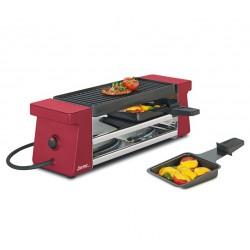 Appareil à raclette 2 Compact Rouge - Spring