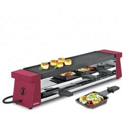 Appareil à raclette 4 Compact Rouge - Spring