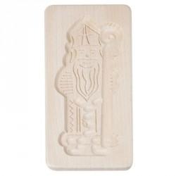 moule spéculoos Saint-Nicolas en bois