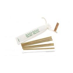 Pailles Bam-Bam en bambou - Cookut