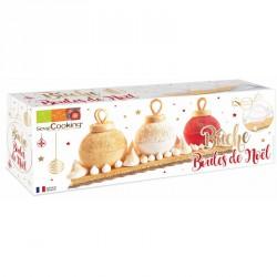 Kit moule boules de Noël - Scrapcooking