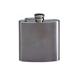 Flasque inox brossé 180ml
