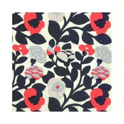 Serviettes lunch Marimekko green green coral