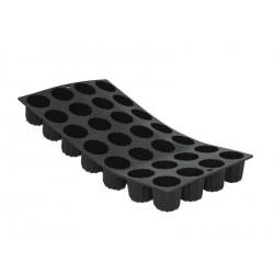moule à mini cannelés bordelais silicone - De Buyer