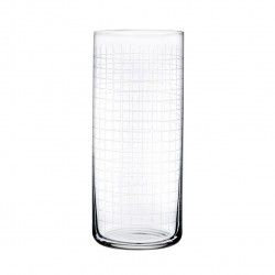 Set de 4 verres Long Drink Finesse Grid Timeless - Nude