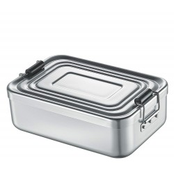 Lunch Box aluminium anodisé Silver - Küchenprofi