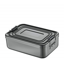 Lunch Box aluminium anodisé Anthracite - Küchenprofi