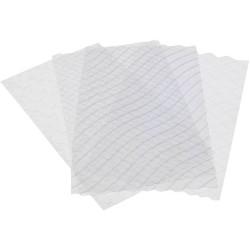 Set de 4 feuilles structures pour bûche - De Buyer