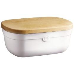 Boîte à pain céramique couleur craie - Emile Henry