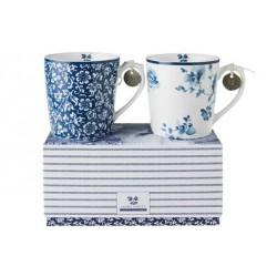 Set de 2  mug Jackie Bay Blue