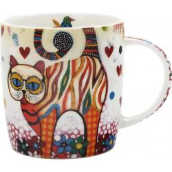 Maxwell Williams mug tabby