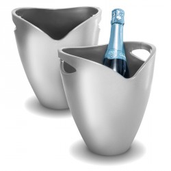 Seau à champagne silver de Pulltap's