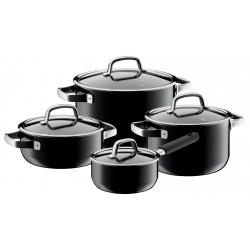 Set de 3 casseroles  et 1 poêlon Fusion Tech - WMF