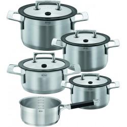 Set de 4 casseroles  et un poêlon Silence Rösle