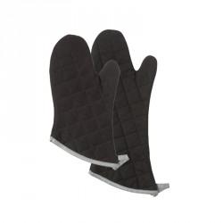 Moufle four coton noir