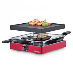 Appareil à raclette 4 Classic Rouge - Spring