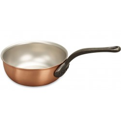 Sauteuse conique en cuivre  - Falk Culinair