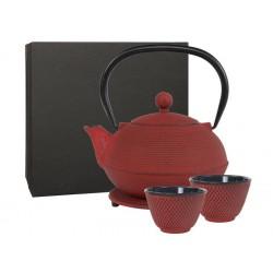 Théière Giftbox Ganzou 0,90 ltr,  red